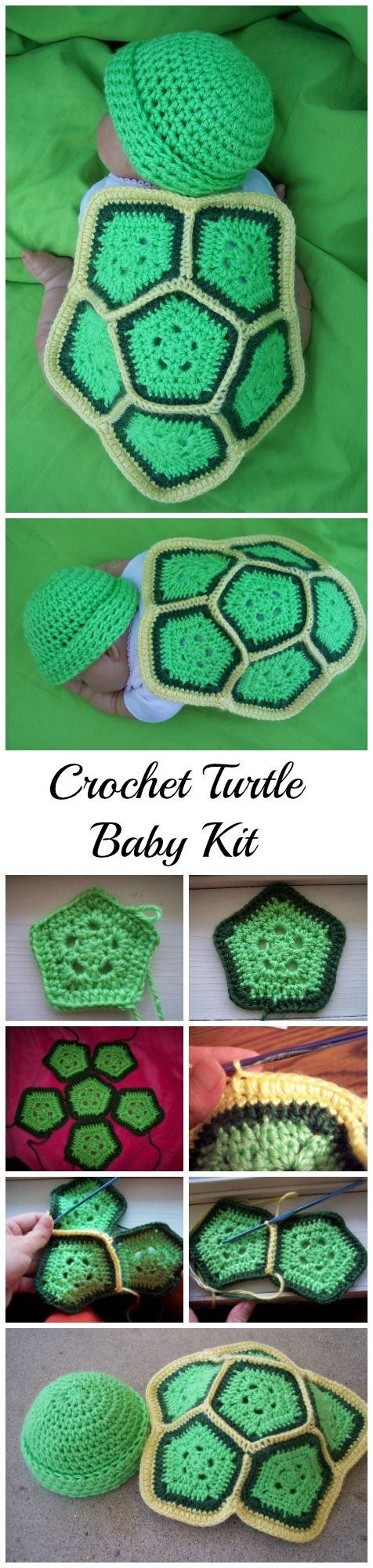 Crochet Turtle Love | Häkelideen, Stricken häkeln und Häkeln