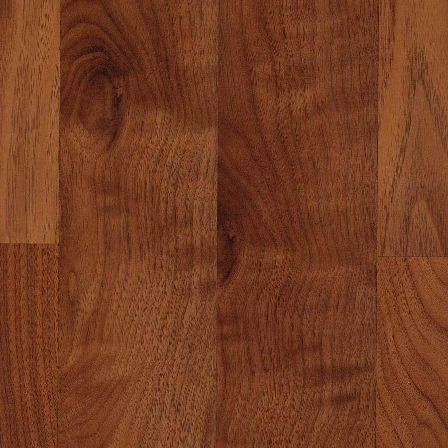 Allen Roth W X L Warmed Walnut Laminate Flooring Item 392041 Model