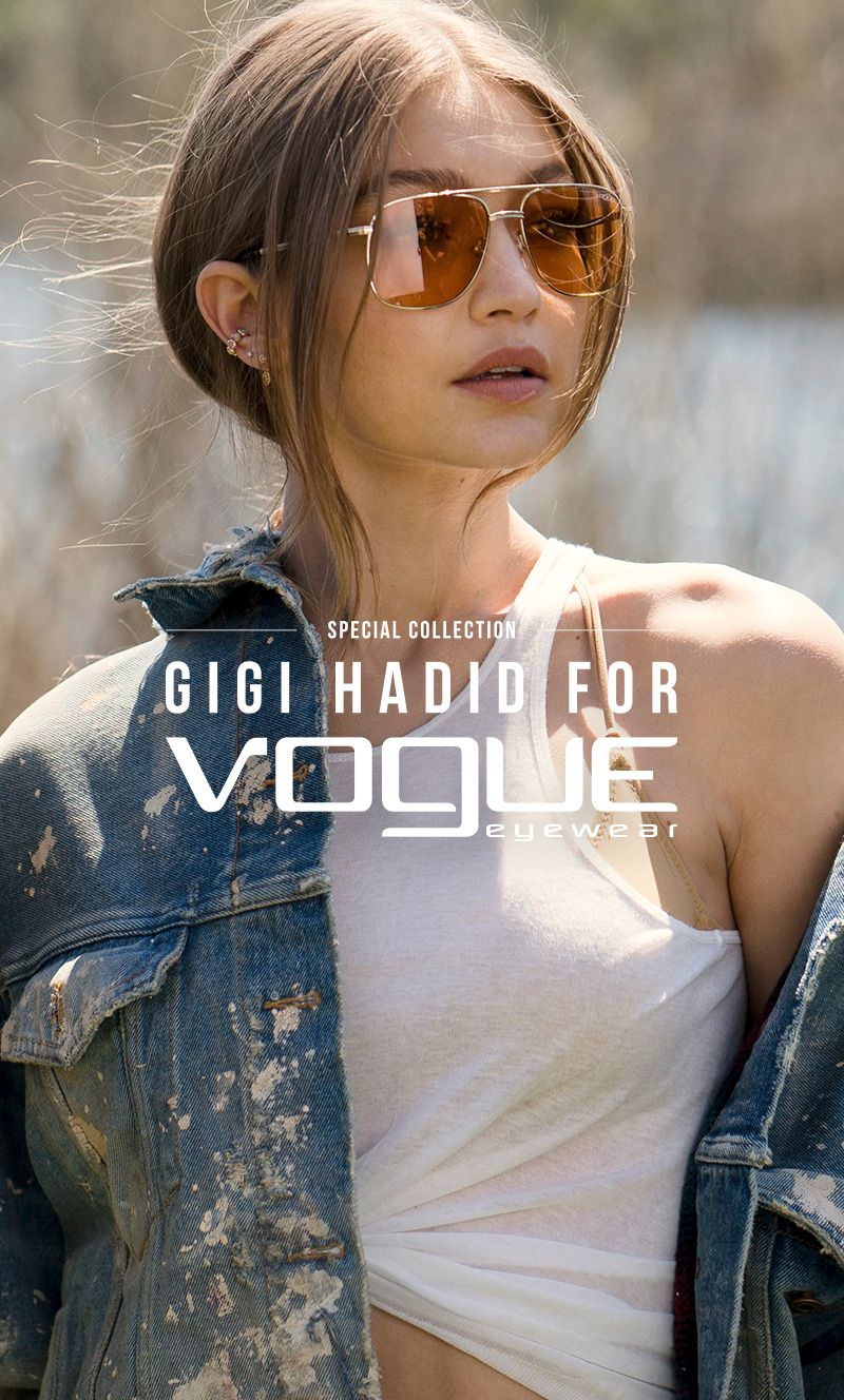 4a98ee08ab Gigi Hadid Daily — Gigi Hadid for Vogue Eyewear