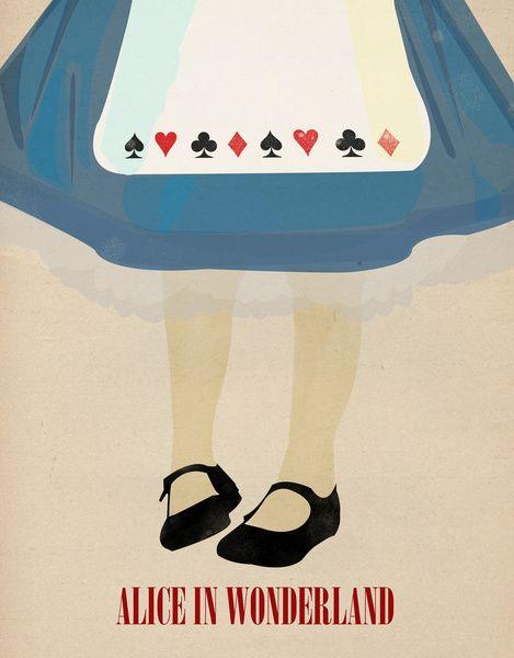 Alice In Wonderland Art Print