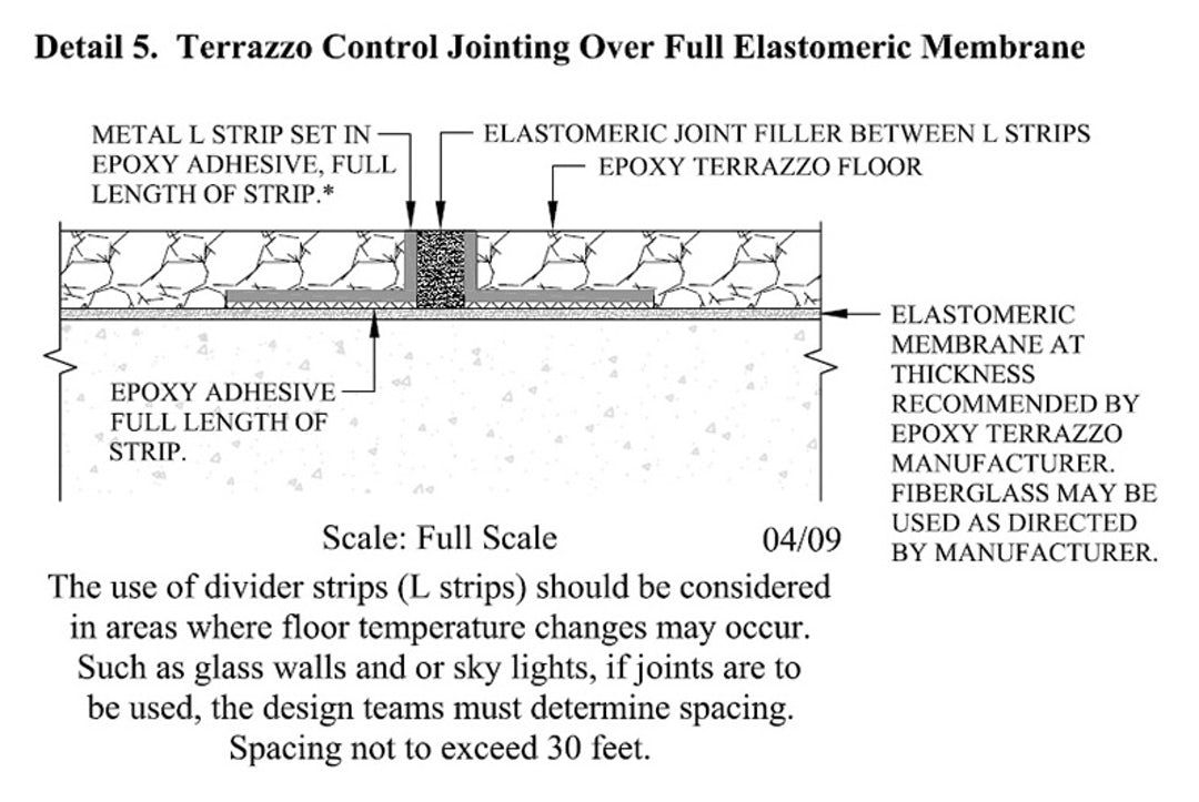 Inside Outside 10 Virtually Seamless Terrazzo Surfaces Architizer Terrazzo Terrazzo Flooring Architizer