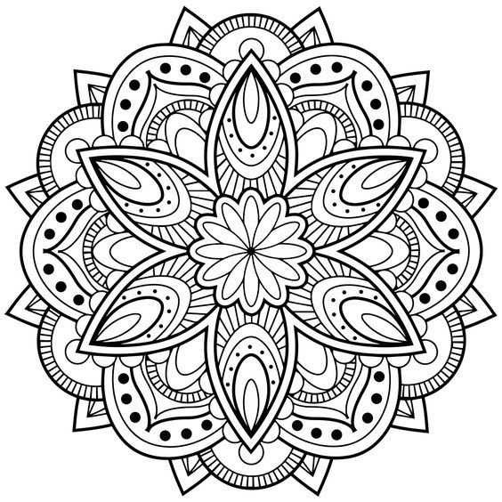 Mandala Coloring Pages Abstract Coloring Pages Mandala Coloring Books Mandala Coloring Pages