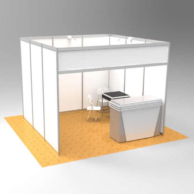 Portable Exhibition Case : Hot selling portable exhibition booth 3*3m standard size find