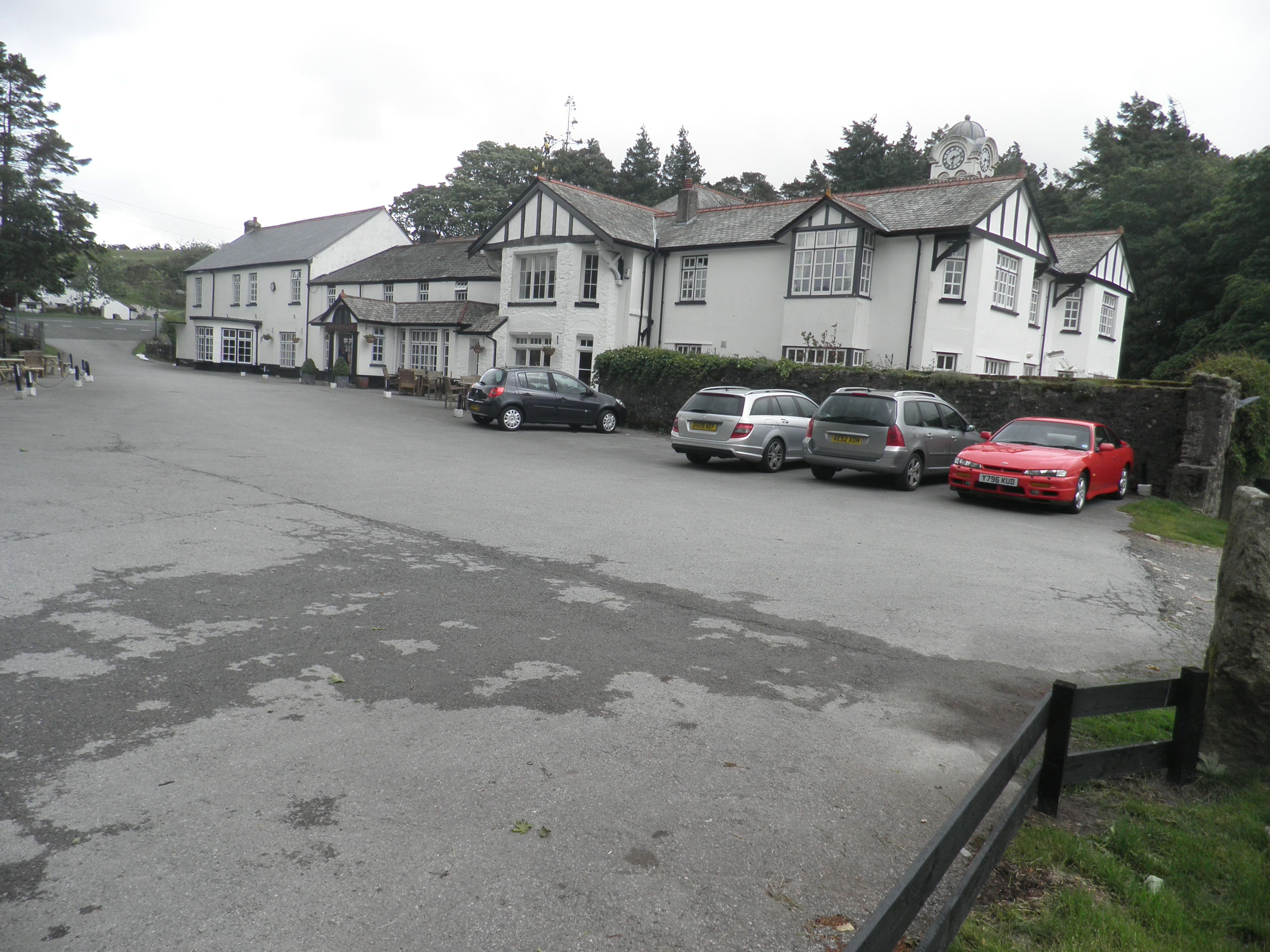 We stayed one night at Two Bridges Hotel in Dartmoor, Devon, England.