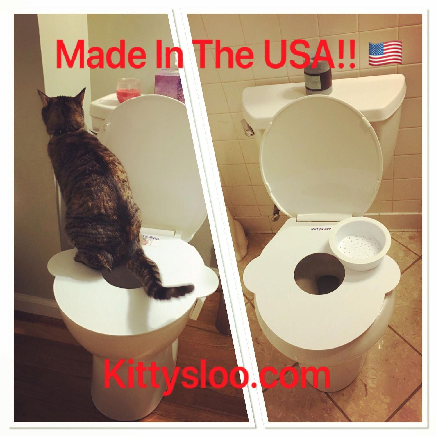 It S Time To Get Rid Of The Litter Box Buy Now And Save Now Cats Bathroomideas Kittens Kittysloo Tinyhouse Cat Cat Toilet Training Cat Patio Indoor Cat