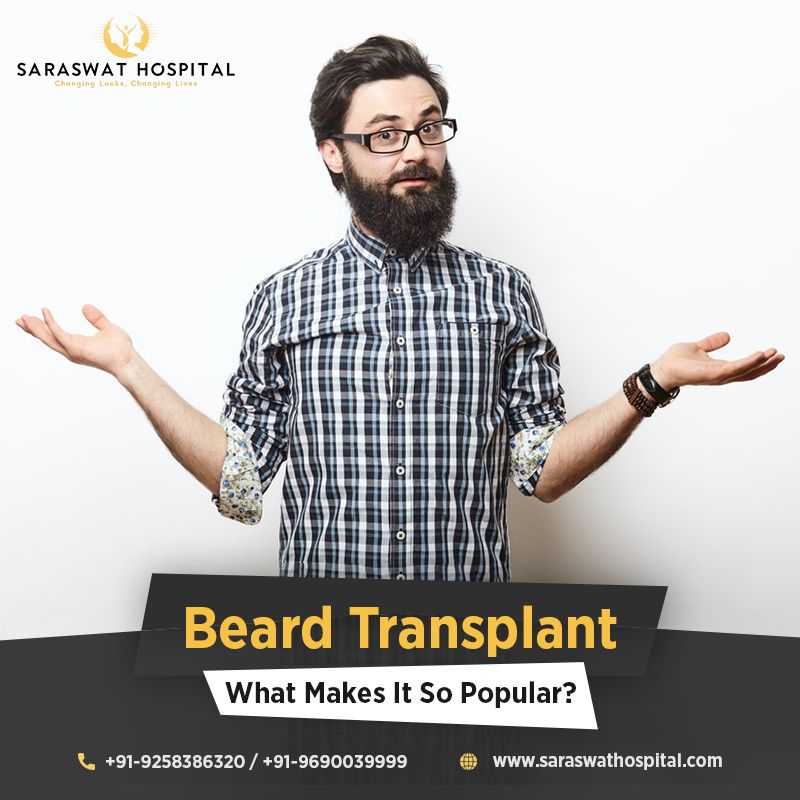 How did the best beard transplant in india gain popularity