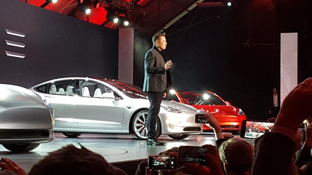 Elon Musk and the Tesla Model 3