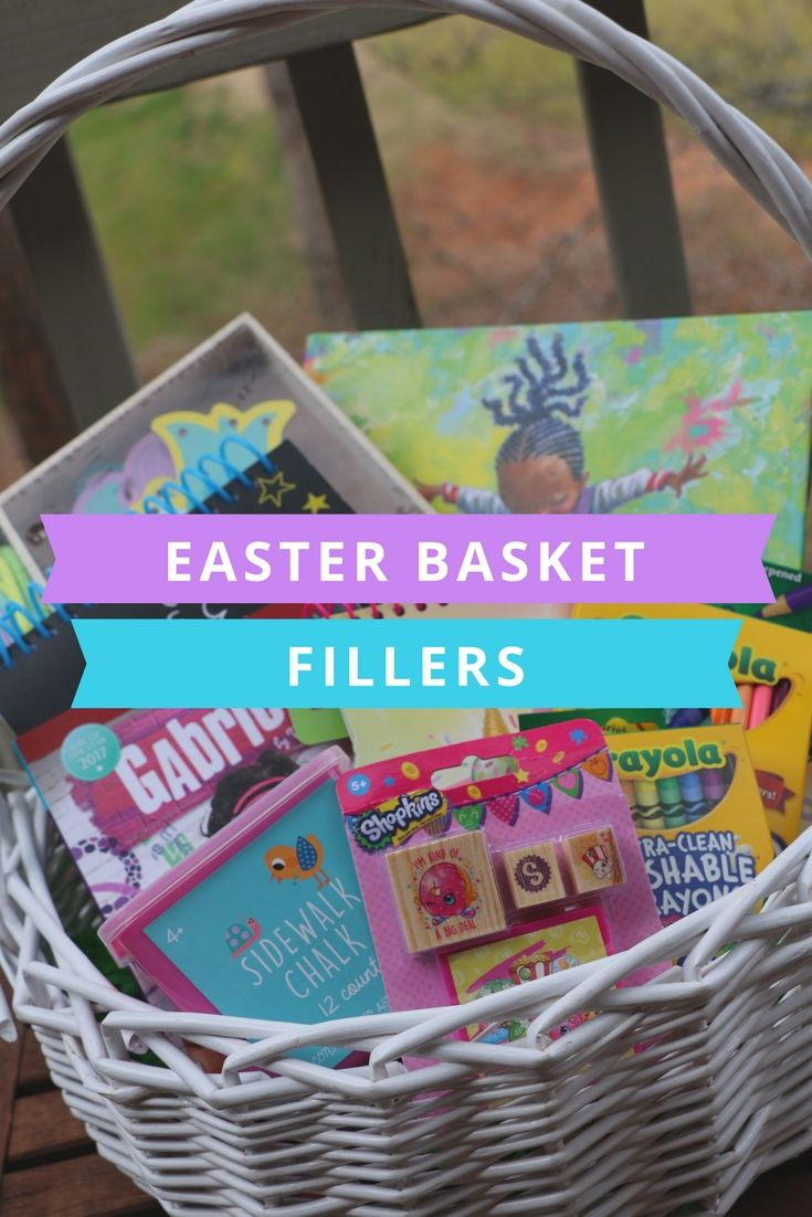 These are all great Easter basket fillers for creative kids!