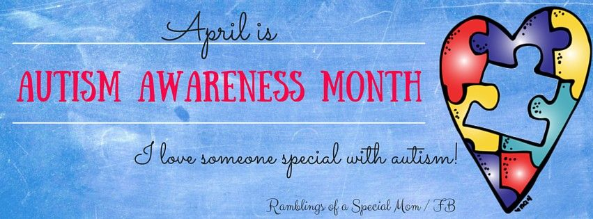 Autism Awareness Facebook Cover Photo   Ramblings of a Special Mom