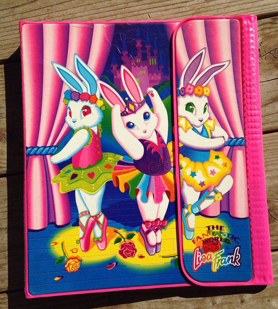 Rare Vintage Lisa Frank Trapper Keeper By Marilynmeredith On Etsy