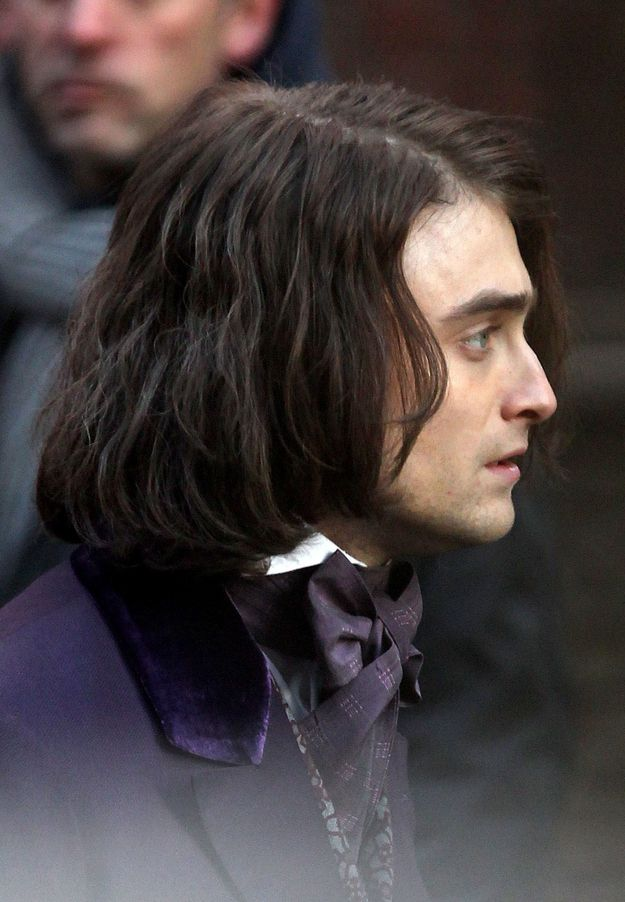 Please Enjoy These Photos Of Daniel Radcliffe With Long Hair