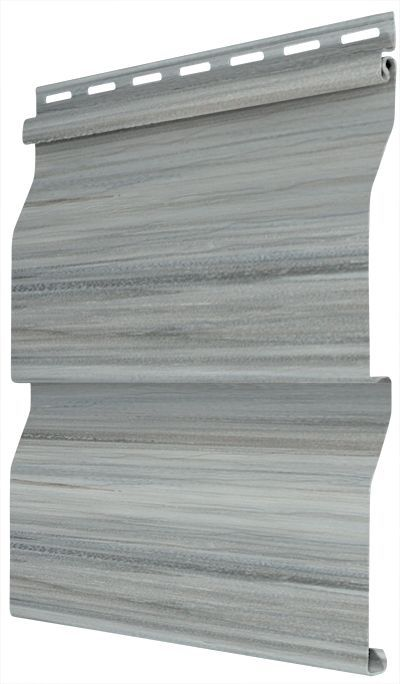 9 5 Inch X 12 Ft 1 5 Inch Double 5 Inch Dutch Lap Siding In Rustic Weathered Wood Grey 20 Pack Products In 2019 Weathered Wood Vinyl Siding Dutch Lap