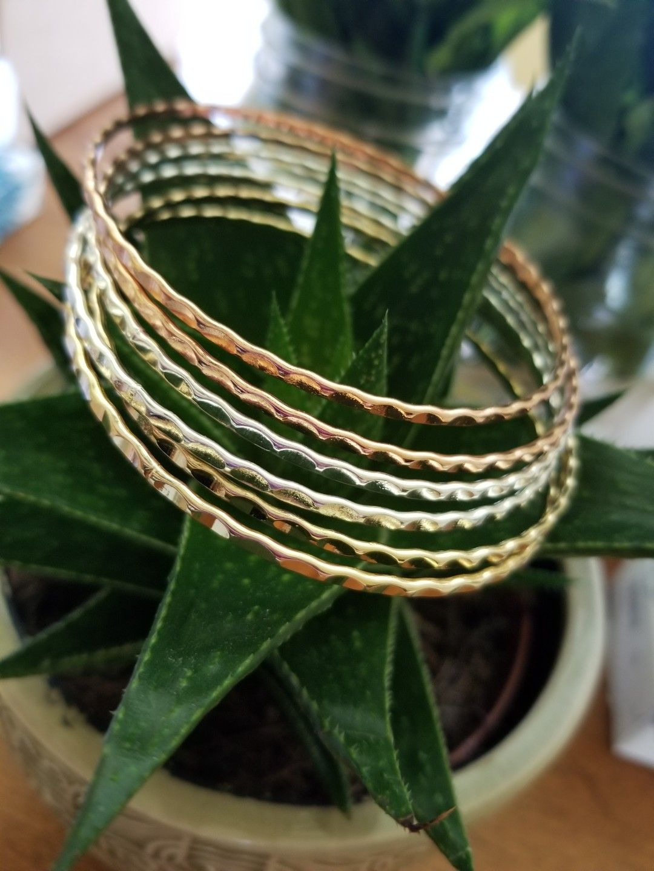 bracelets, rosegold, gold, silver, braceletstack,