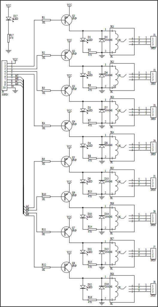 wiring a relay board