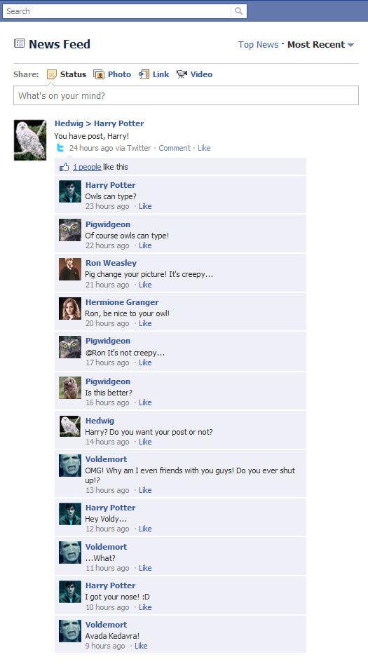 if harry potter had facebook lol potterhead pinterest harry