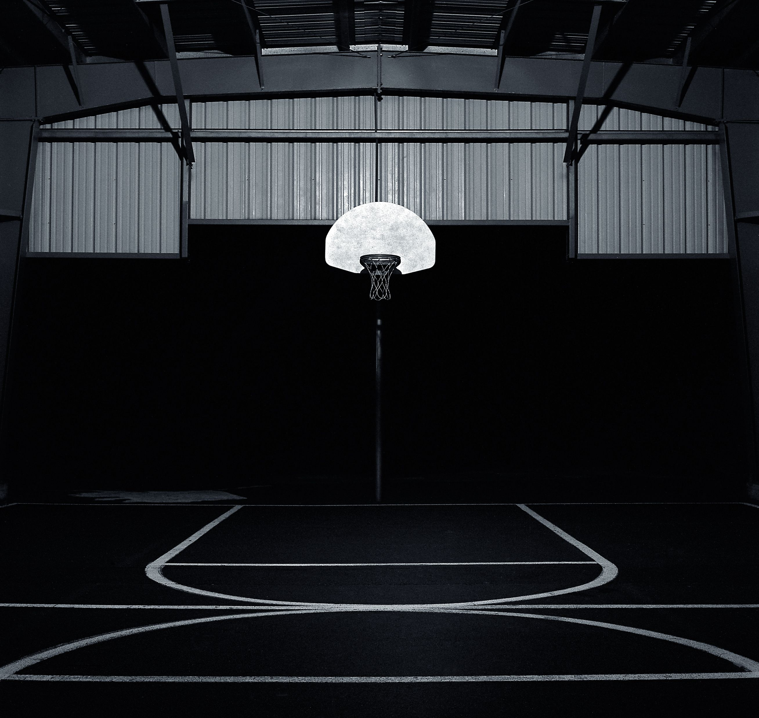 Basketball Court Black And White Photography Images Pictures Basketball Wallpaper Basketball Photography Basketball Photos