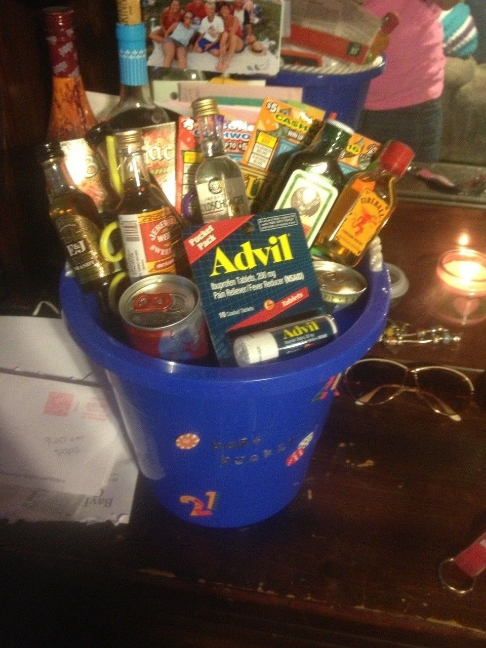 Boyfriends 21st Birthday Barf Bucket Everything Pinterest