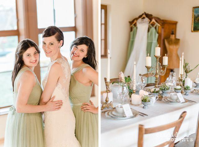 Rustikal-chice Hochzeitsinspiration: Styled Shoot im ...