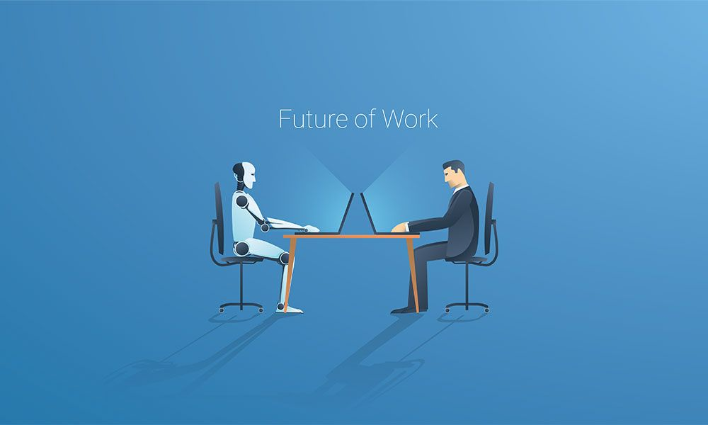 The Future Of Work Revolves Around Data Decentralisation Automation That Will Radically Change Leadership Cultur Change Leadership Data Emerging Technology