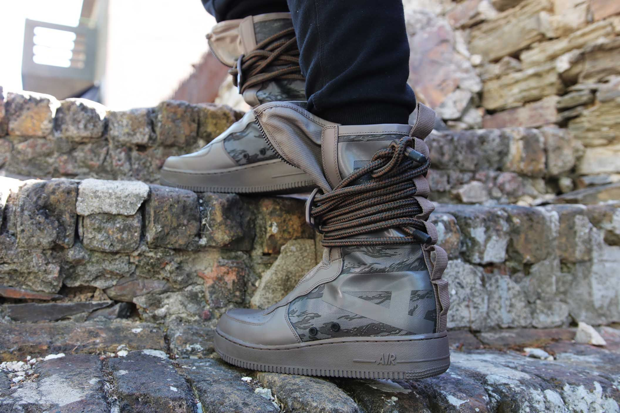 Nike Sf Air Force 1 High Boot Ridgerock Grailify Sneaker Releases Boots High Boots Nike
