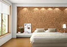 decoracion paredes dormitorios corcho Pinterest Corchos