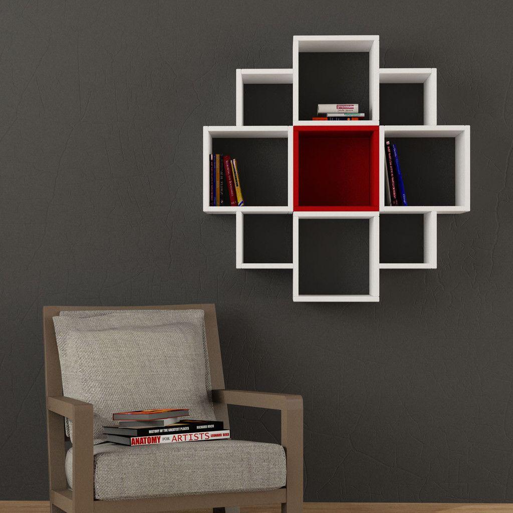 Fiore wall shelf wondrous furniture carpinter a for Minar muebles