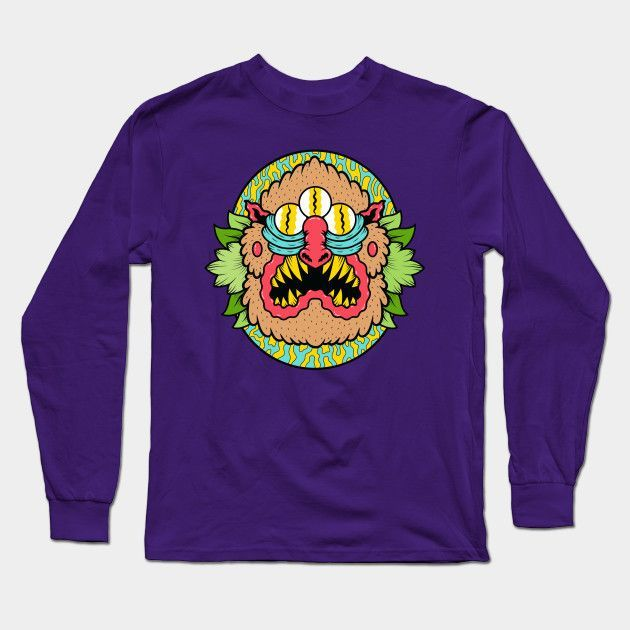 Mandrillus Long Sleeve T-Shirt
