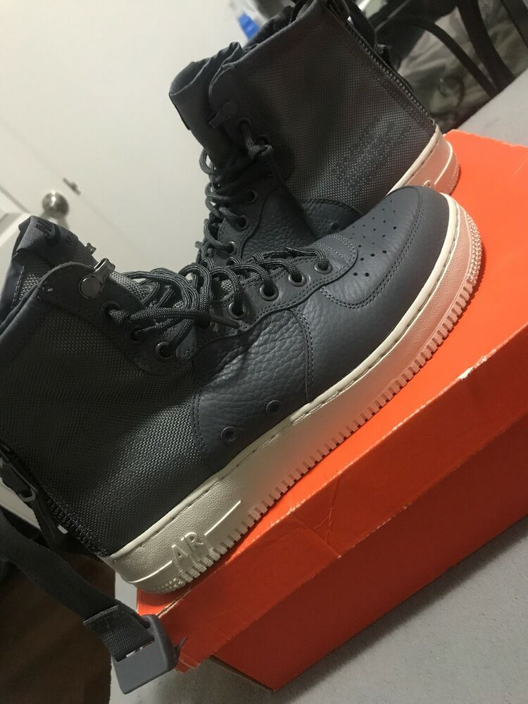 e1ced616c4d Nike Men s SF Air Force 1 AF1 Mid Shoes Size 9.5  fashion  clothing ...