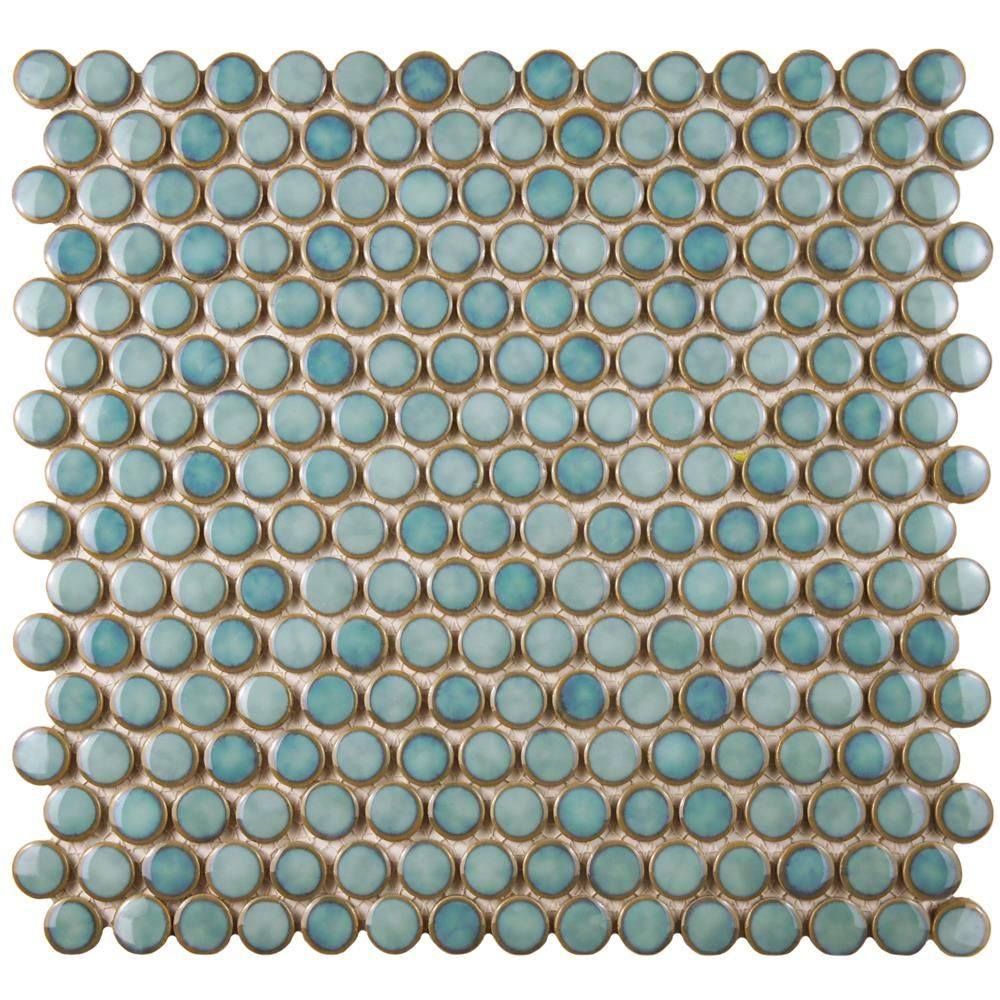 Loft Penny Round - Marine Gloss Finish - On Sale - $8.95 Per Square ...