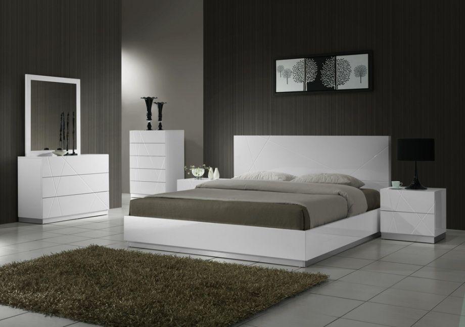 Schlafzimmer Modernen Weißen Schlafzimmer Set Modern Weiß ...