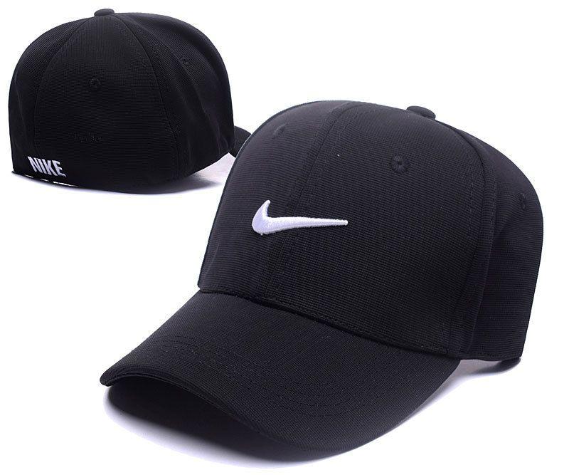 Me preparé Aceptado Rápido  Men's / Women's Nike Swoosh Logo Embroidery Flexfit Dad Hat - Black / White