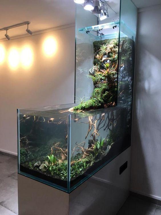 Home Aquarium Design Ideas: 45 Stunning Aquarium Design Ideas For Indoor Decorations