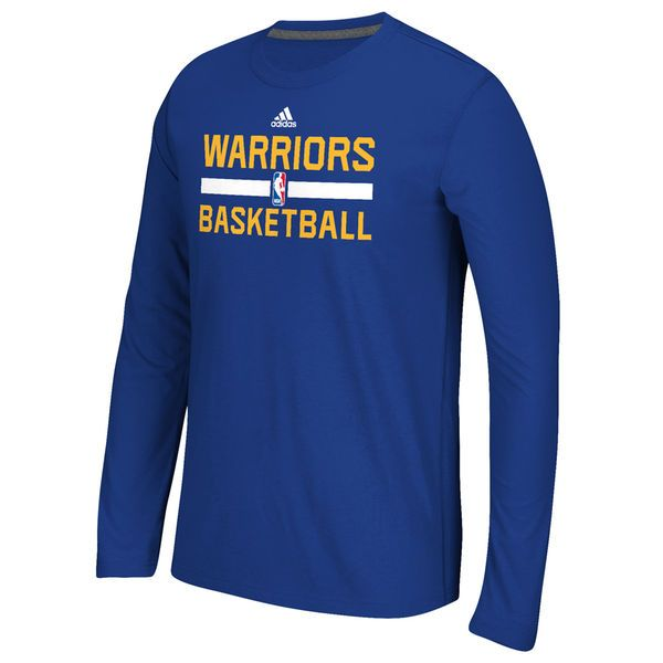 d131a8ac1659 Golden State Warriors adidas Youth Practice ClimaLITE Long Sleeve T-Shirt –  Blue -  24.99