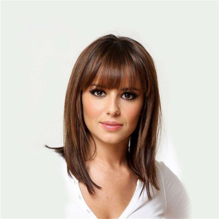 1001 Ideas de cortes de pelo con flequillo para cada tipo de rostro
