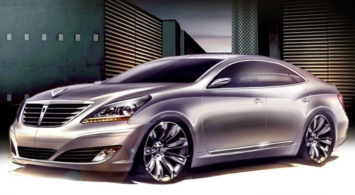 genesis luxury brand to launch sedan hyundai