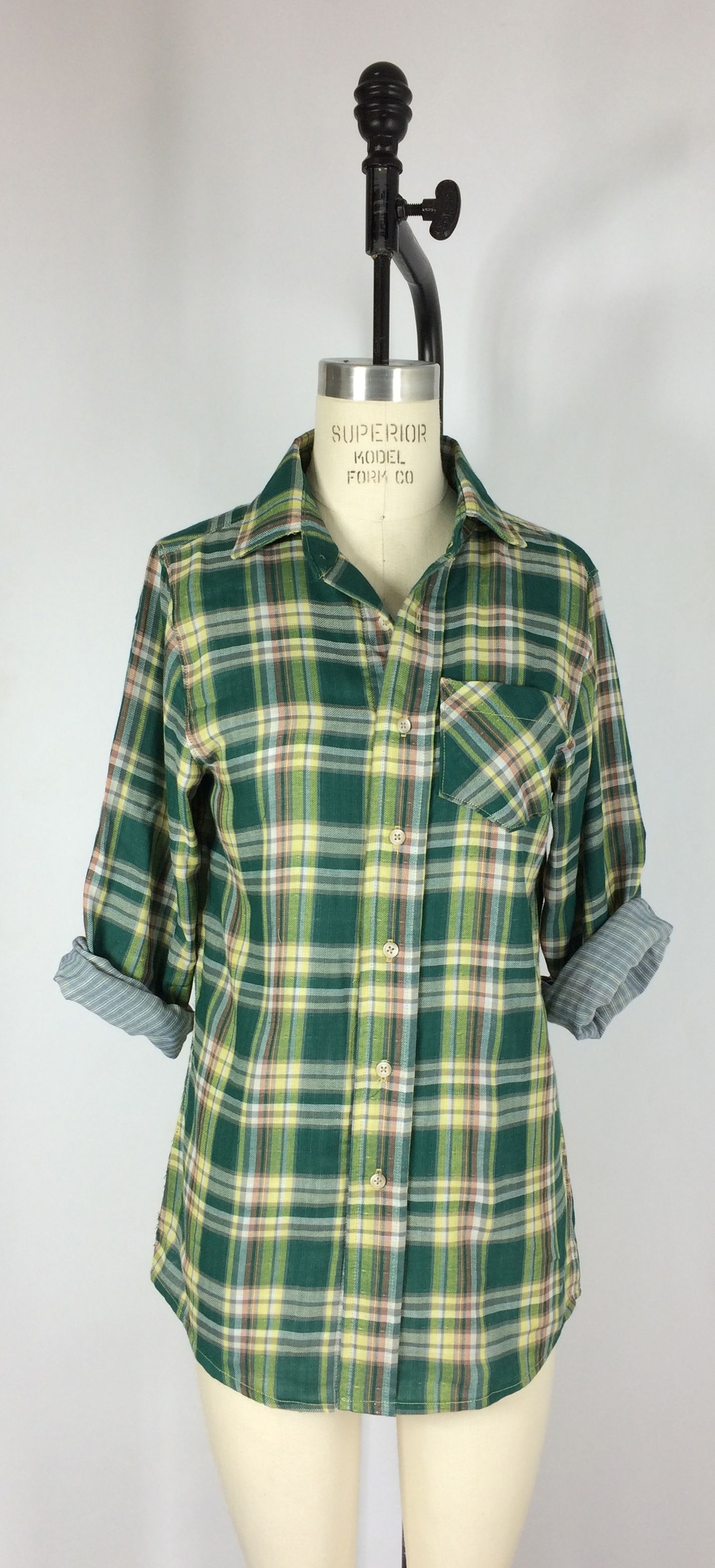 Caroline Shirt from Spit Up & Stilettos - Hip length relaxed-fit ...