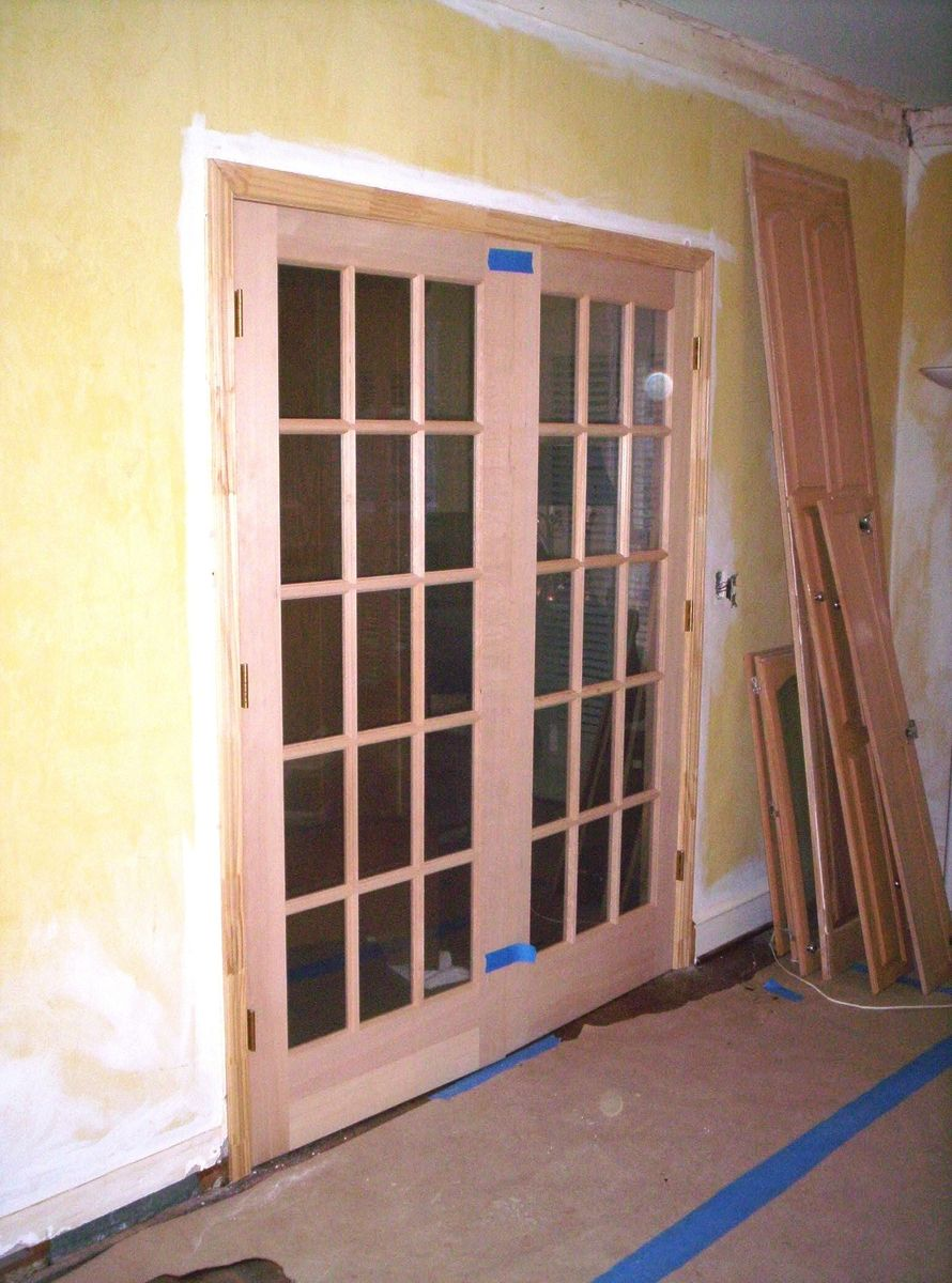 Stain Grade French Door Install Products I Love Pinterest