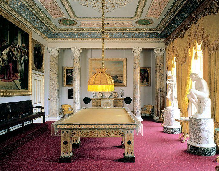 Osborne House Gardens The Billiard Room Isle Of Wight