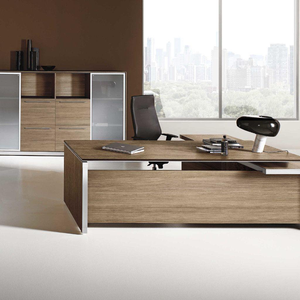 E o s executive desk las mobili contemporary office for Mobili x ufficio economici