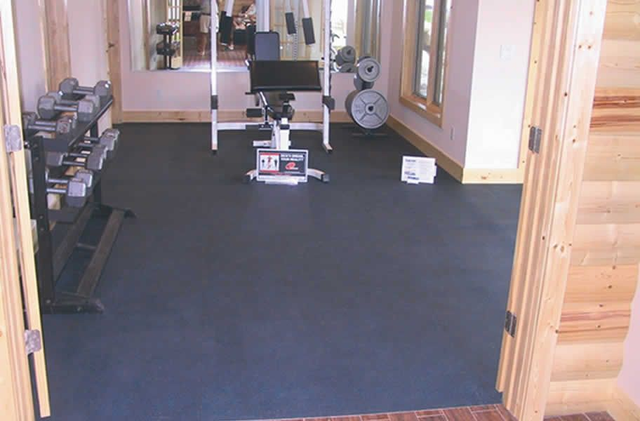 1 2 Rubber Gym Tiles Home Gym Flooring Rubber Flooring Best