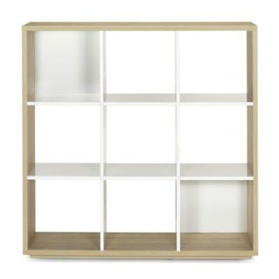 Etageres Alinea Bibliotheque 9 Cases Design Scandinave Checker