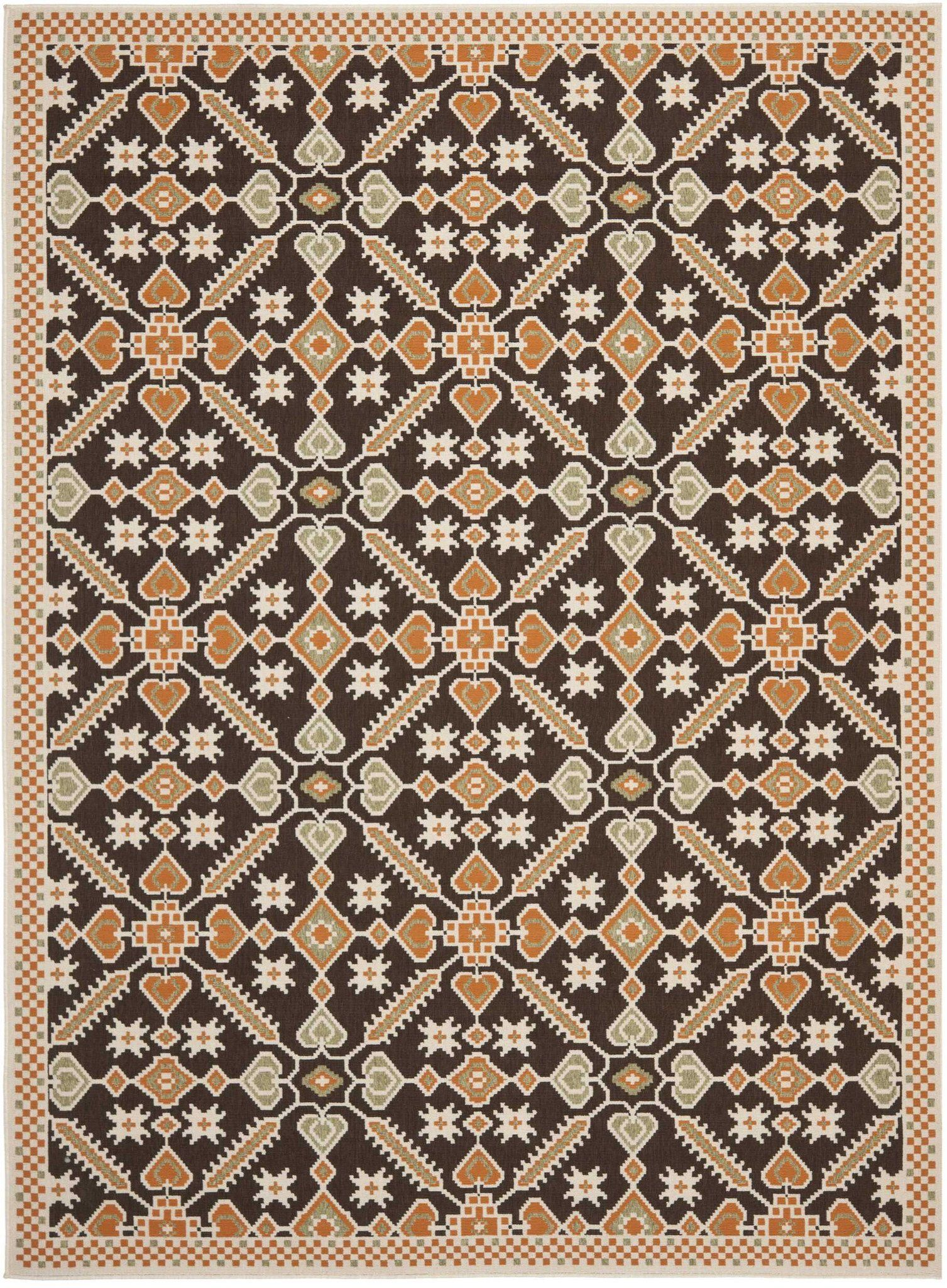 Safavieh Veranda Ver098 Area Rug Colorful Rugs Area Rugs Graphic Patterns