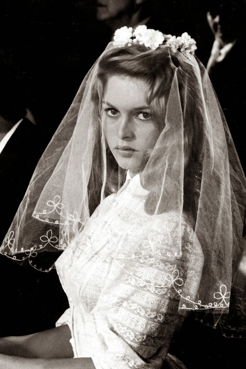 Mamma mia wedding dress  In Photos  Iconic Movie Wedding Gowns  Bardot Movie and Gowns