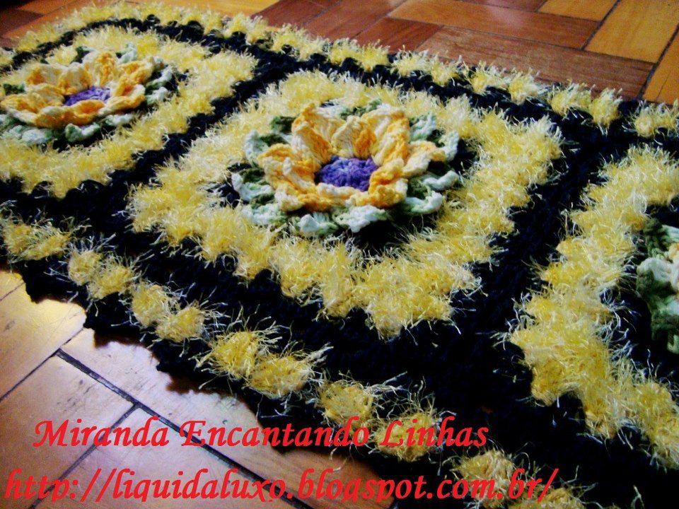 Tapete Floral Marcelo Nunes : Tapete flor natalina, barroco decore More