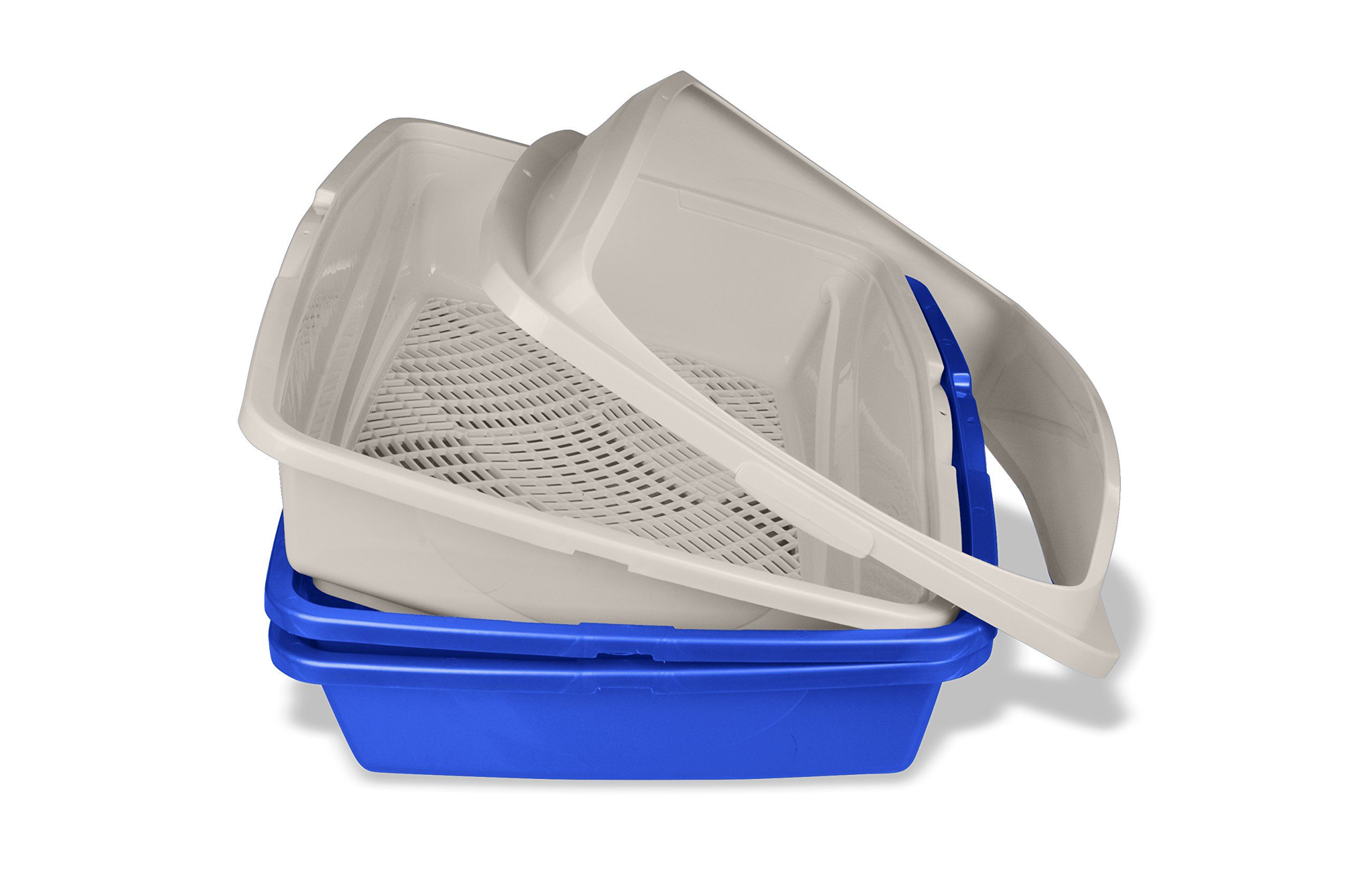 Van Ness Cp5 Sifting Cat Pan Litter Box With Frame Assorted Colors Information Could Be Located By Clicking On The Image T Litter Box Litter Cat Litter Pan