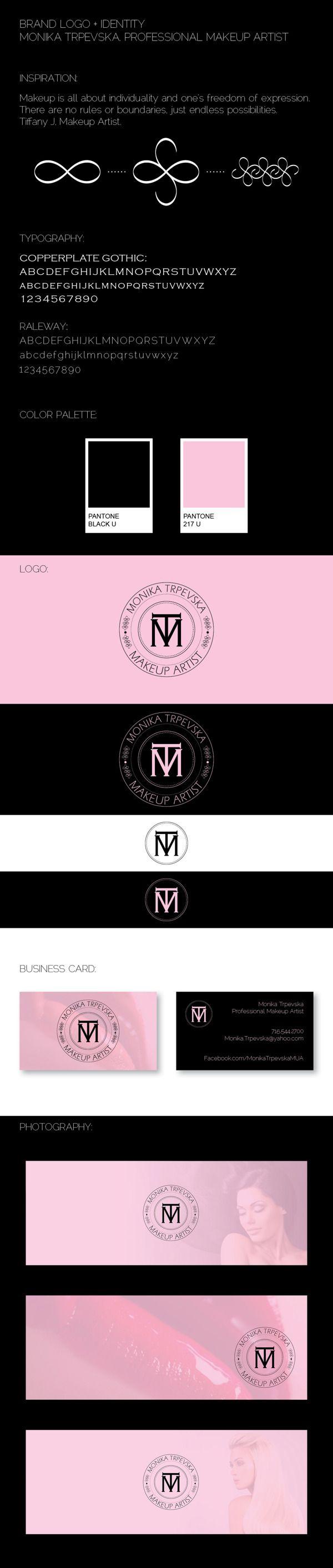 Brand Logo + Identity | Makeup Artist by Liz Koz, via Behance