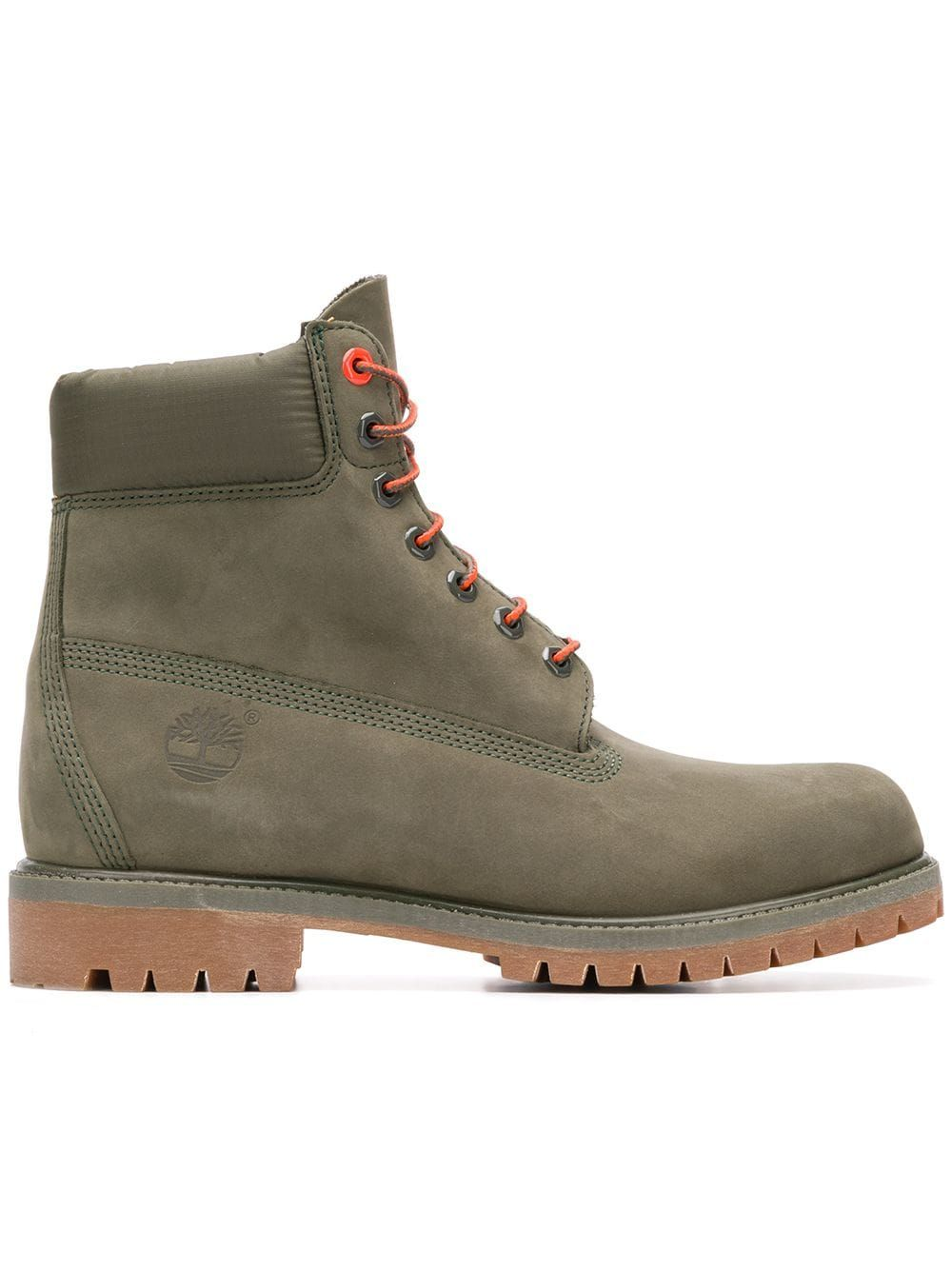 TIMBERLAND TIMBERLAND PREMIUM 6 INCH ANKLE BOOTS GREEN
