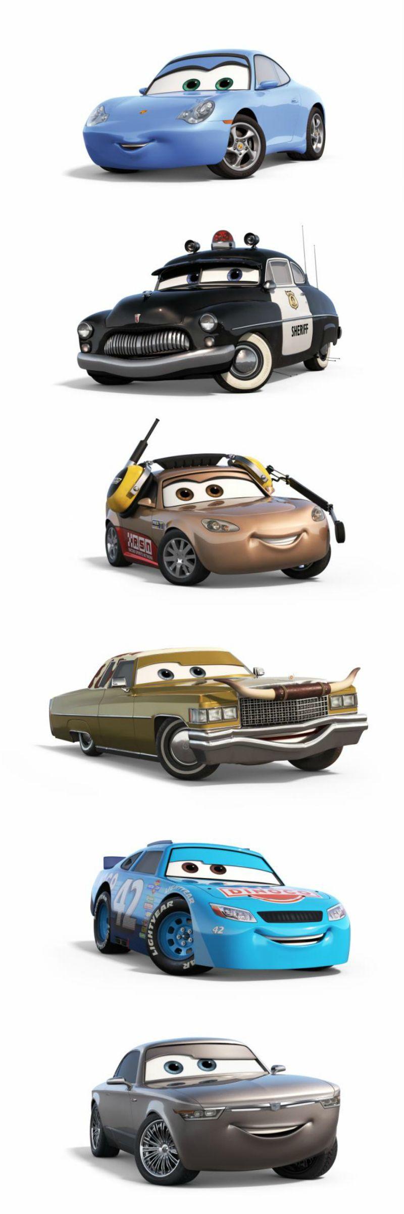 Disney Pixar Cars 3 Characters Disney Cars Cartoon Disney