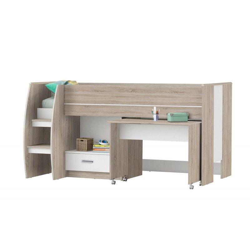 Lit Combine Bureau Lit Combine Bureau Switch Meubles O Top Bedroom