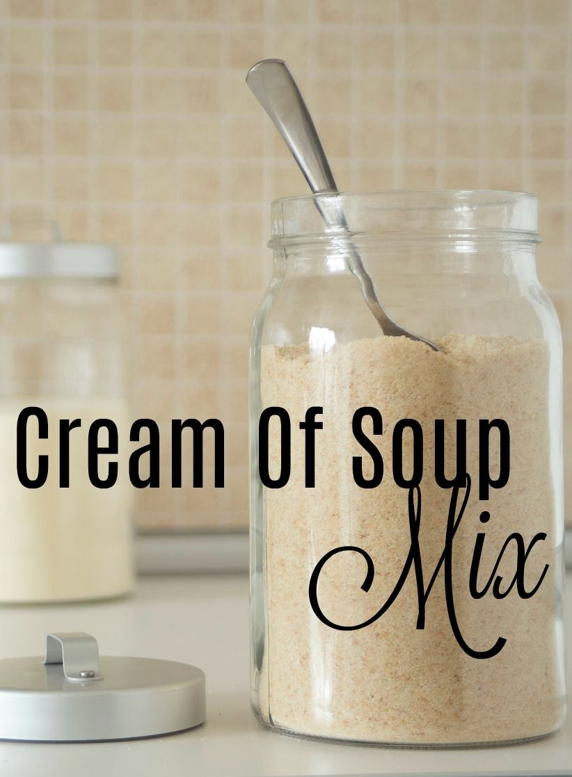 """Recette de mélange maison """"Crème de soupe"""" - 9 versions différentes"""